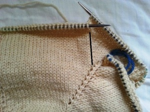 bust shaping in yoke