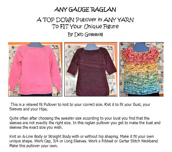 Any Gauge Raglan Adult front page