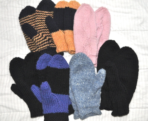 Any Gauge Mittens group
