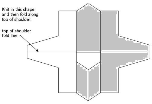 Build a V child blank schematic - shaded sleeve