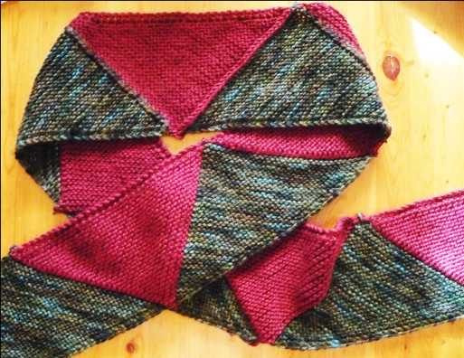 gauge-free triangle scarf workshop
