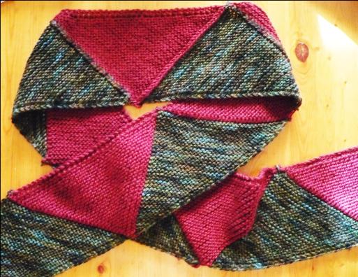 gauge-free triangle scarf workshop